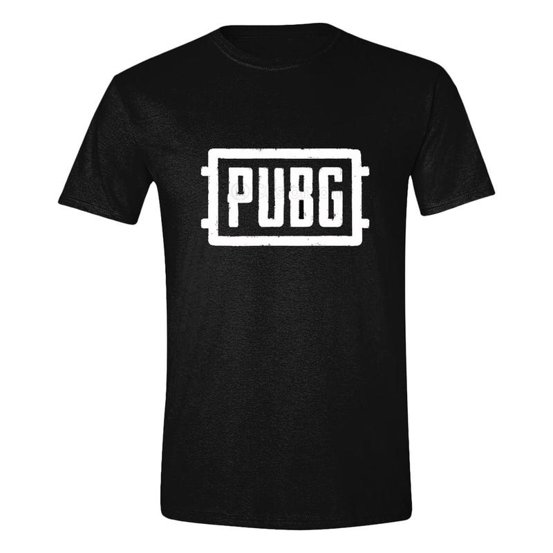 f78427f5c Playerunknown's Battlegrounds pánské tričko Logo PUBG černé | ITEMY.CZ