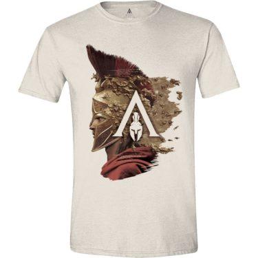 Assassin s Creed Odyssey pánské tričko Alexios Side pískové 1c39b8bda9