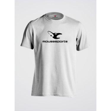 Mousesports Basic pánské tričko bílé 467bd99b64