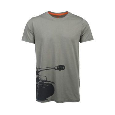 6317d612c78 World of Tanks pánské tričko Tiger šedé